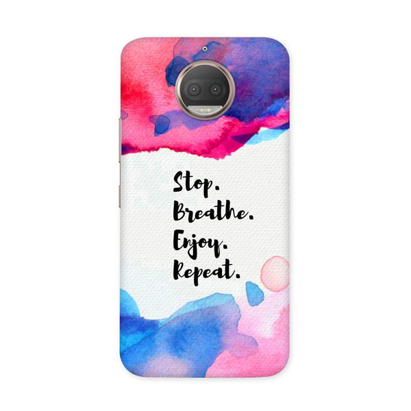 Stop Breate Enjoy Case for Moto G5S Plus