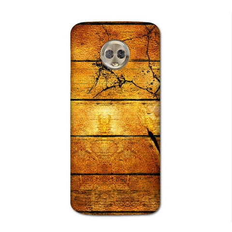 Wood Plank Case for Moto G6