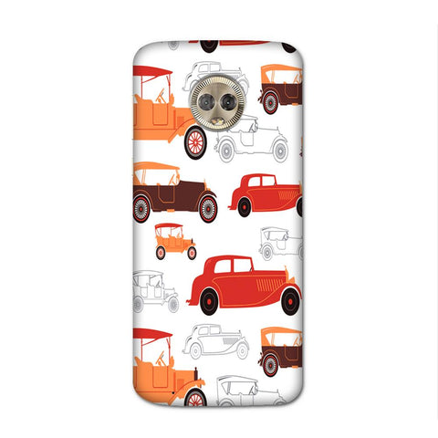 Vintage Wheels Case for Moto G6