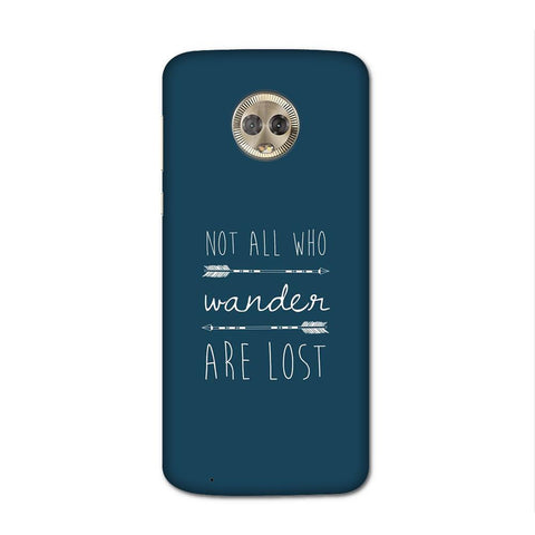 Not Lost Case for Moto G6