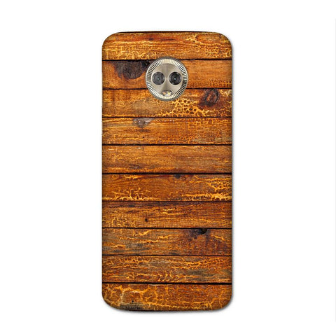 Wooden Vio Texture Case for Moto G6