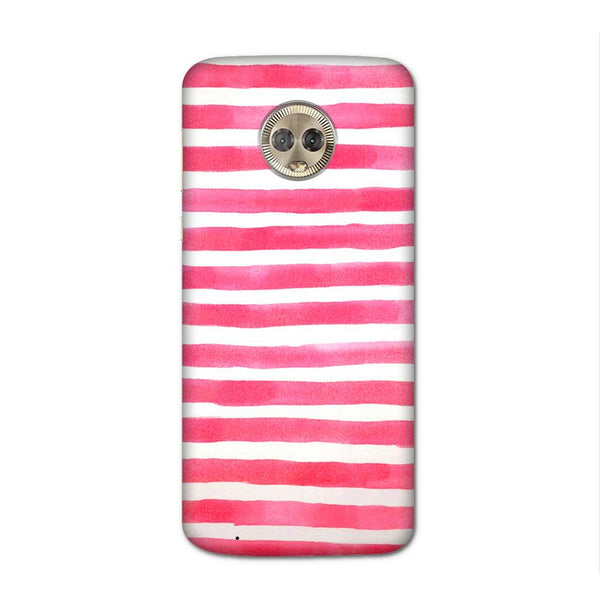 Watery Pink Case for Moto G6
