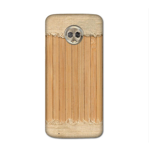 Woodcraft Textured Case for Moto G6