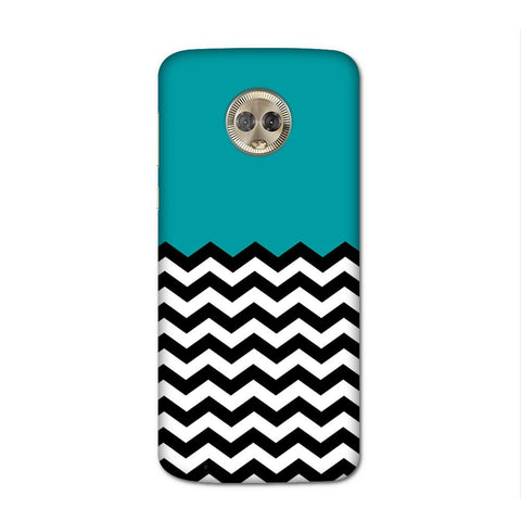 Wavey Chevron Case for Moto G6