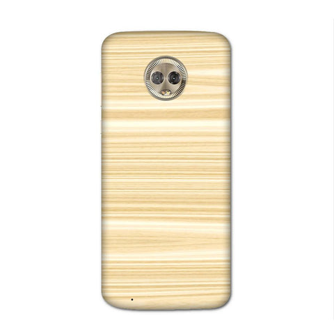 Wood Pattern Case for Moto G6