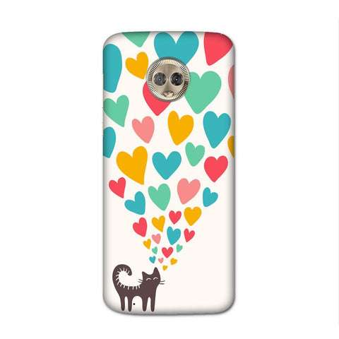 Cat In Love Case for Moto G6