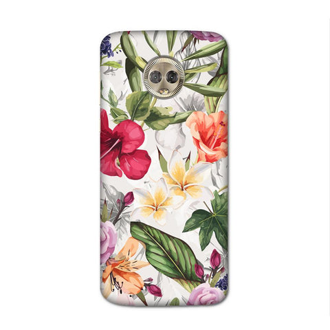 Zingy Flowers Case for Moto G6