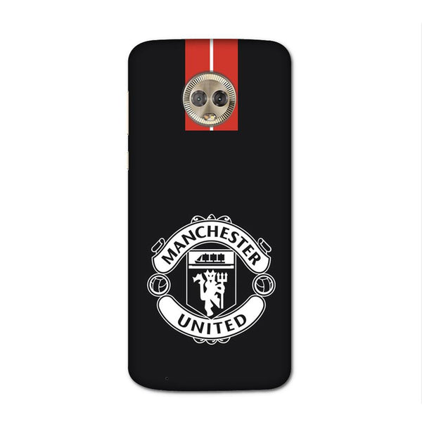 Manchester United Black Case for Moto G6