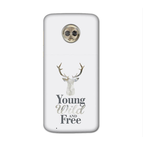 Young Wild Case for Moto G6