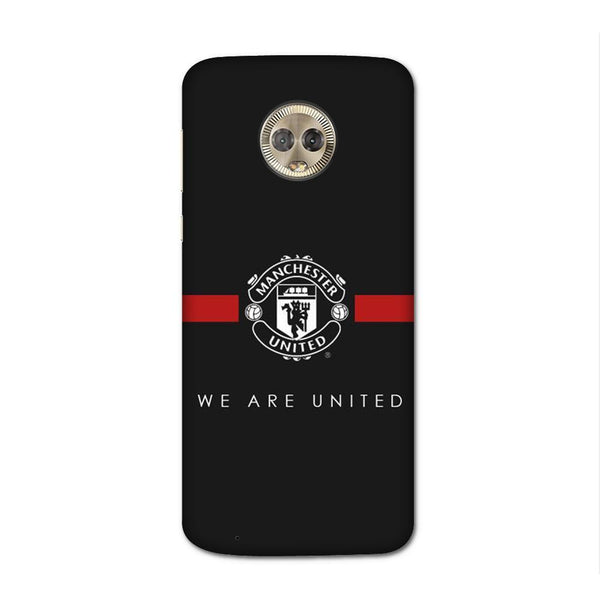 ManU Black Case for Moto G6