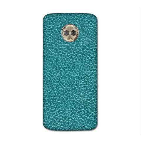 Bluo Leather Texture Case for Moto G6 Plus