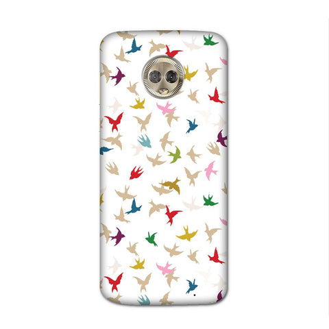 Birds Everywhere Case for Moto G6 Plus