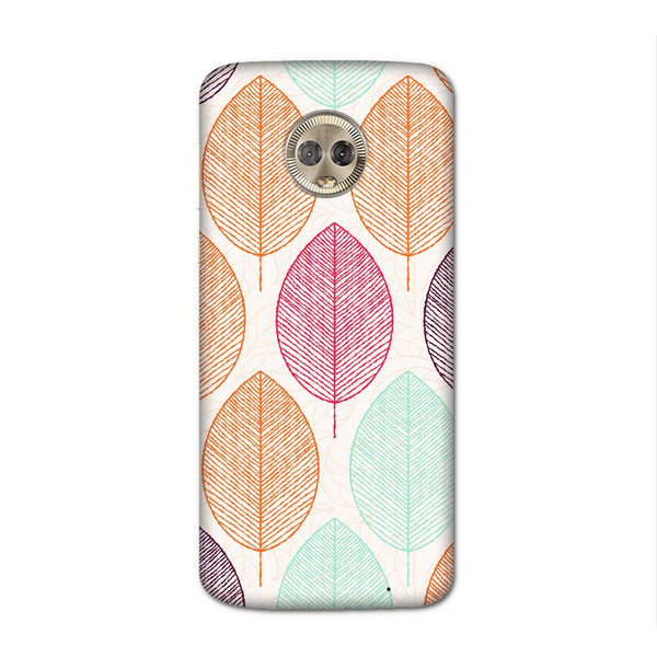 Block Leaf Case for Moto G6 Plus