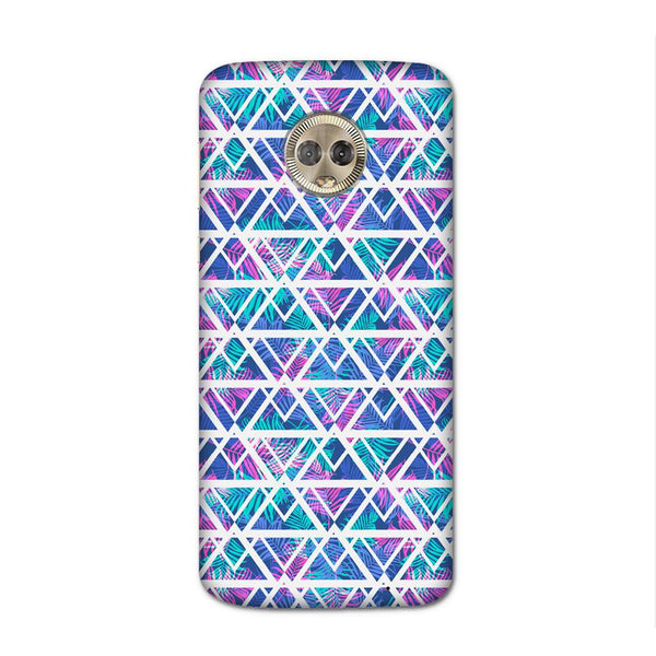 Tropical Print Case for Moto G6 Plus