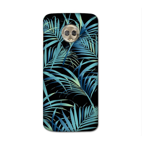 Blue Ferns Case for Moto G6 Plus