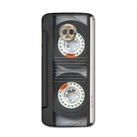 Audio Tape Case for Moto G6 Plus