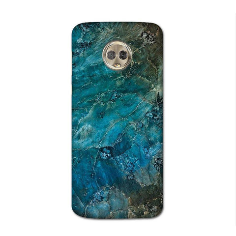 Blue Granite Case for Moto G6 Plus