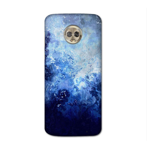 Blue Samisto Case for Moto G6 Plus