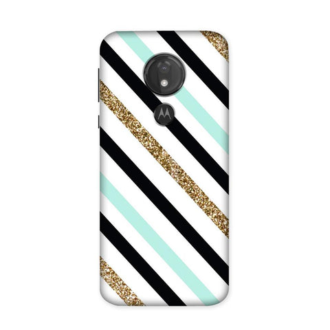 Minora Stripes Case for Moto G7 Power