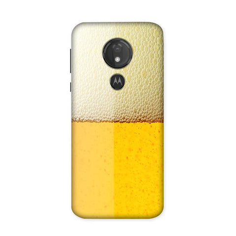 Beer Yellow Case for Moto G7 Power