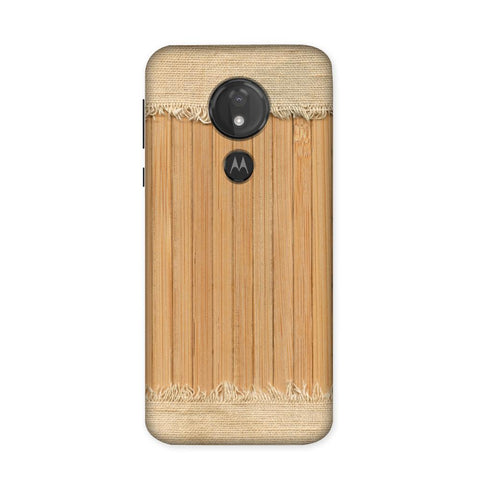 Woodcraft Textured Case for Moto G7 Power