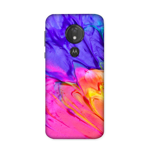 Stubborn Hues Case for Moto G7 Power