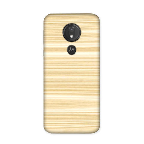 Wood Pattern Case for Moto G7 Power