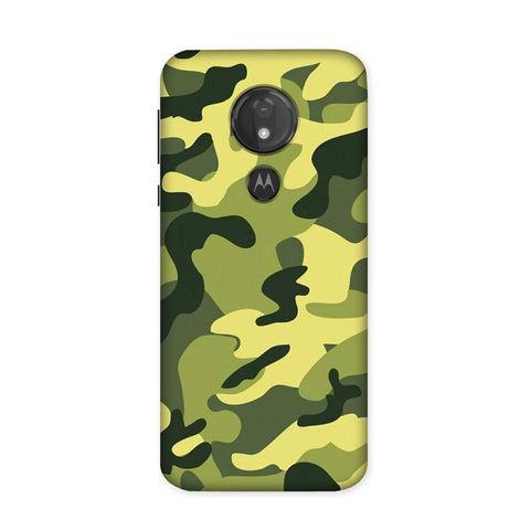 Classic Camouflage Case for Moto G7 Power