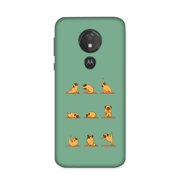 Cute Pug Case for Moto G7 Power