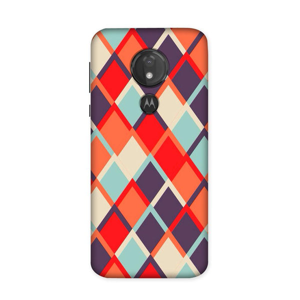 Retro Block Case for Moto G7 Power