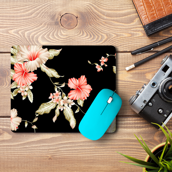 Dark Flower  Mouse Pad