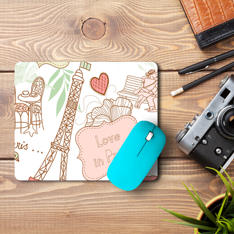 Paris & Me  Mouse Pad