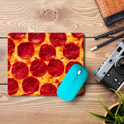 The Pizza  Mouse Pad