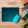 Blue Wood  Mouse Pad