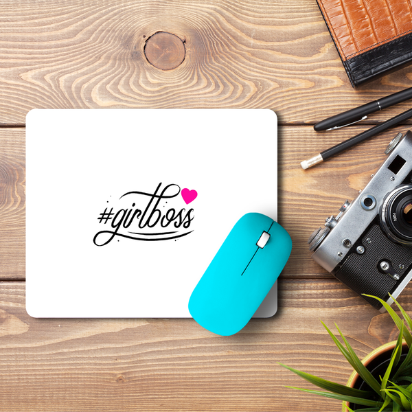 Girlboss  Mouse Pad