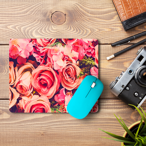 Rosebunch  Mouse Pad