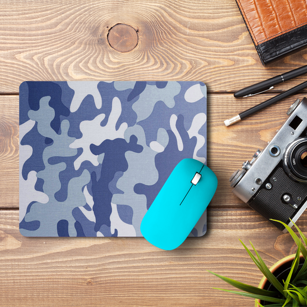 Camouflage Grey  Mouse Pad