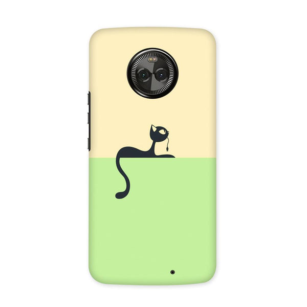Cute Kitty Case for Moto X4