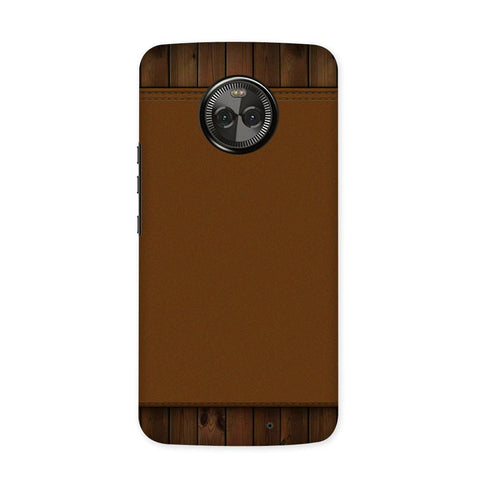 Brown Cosmo Case for Moto X4