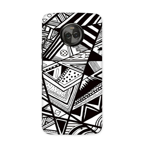 Comic Strip Case for Moto X4