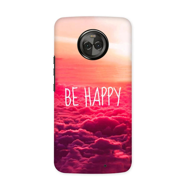 Be Happy Case for Moto X4