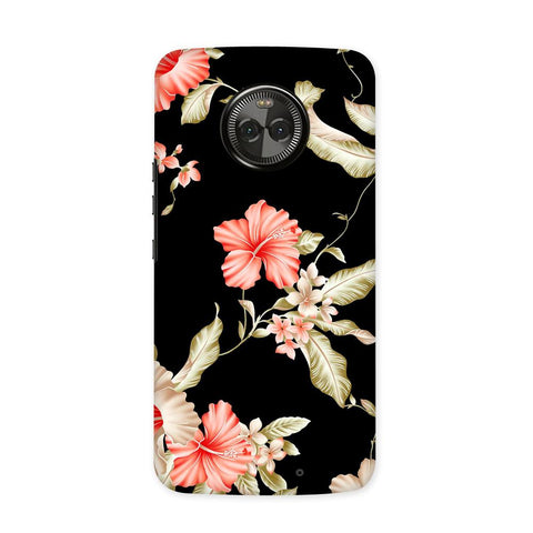Dark Flower Case for Moto X4