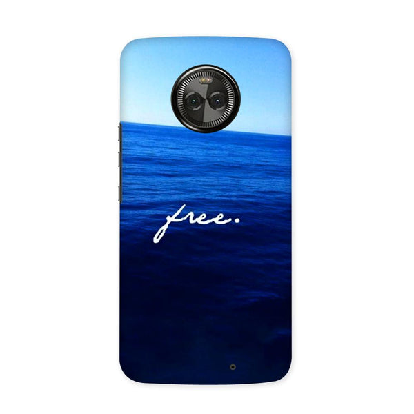 Be Free Case for Moto X4