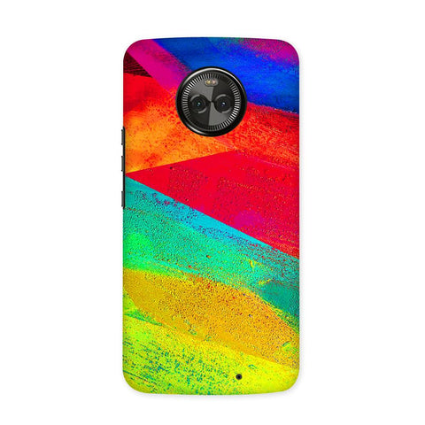 Color Strokes Case for Moto X4