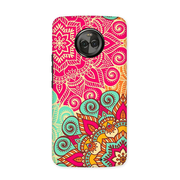 Block Art Case for Moto X4