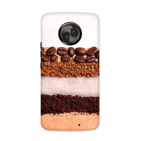 Coffee Bean Case for Moto X4
