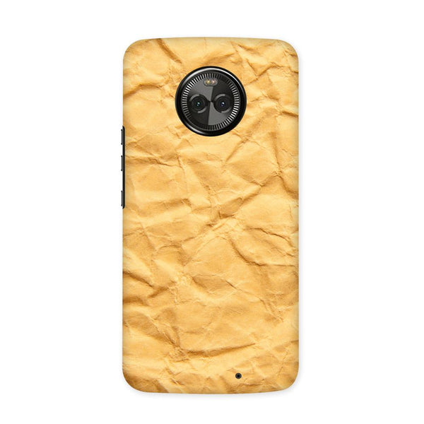 Crumpled Paper Case for Moto X4