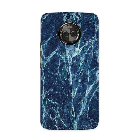 Blue Marble Case for Moto X4
