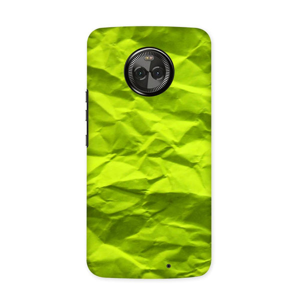 Crumpled Green Case for Moto X4
