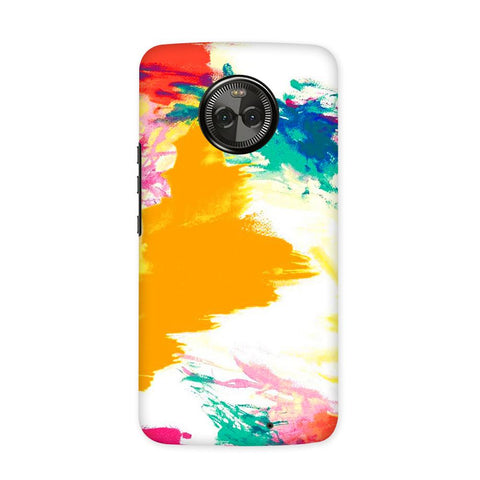 Color Splash Case for Moto X4